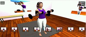 Arm 3D Workout Sets Girls
