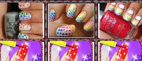 Dotted Nail Art Designs Free
