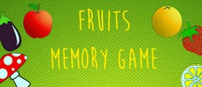 Toddlers Memory Game -Fruits