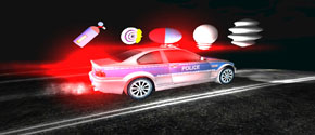 Toddler Police Car 3D Pro Kids