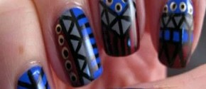 Tribal Nail Art Designs - HD